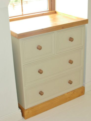 Deanery Bespoke Alcove Chest of Drawers