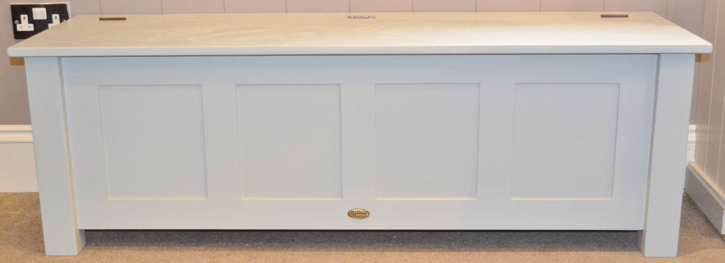 DBH3251 - Deanery Hand-crafted Shaker Style Bench with hand-painted finish