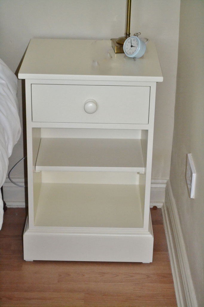 Deanery Open Drawer Locker with hand-painted finish