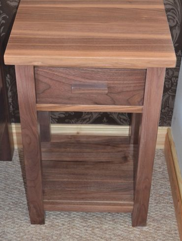 Deanery Solid Walnut Bedstand