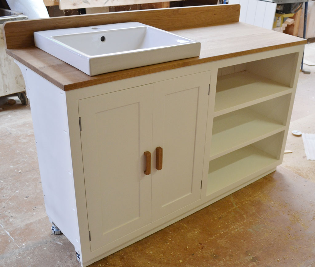 DBR6013 - Deanery Bespoke Counter Top Wash Stand Cabinet