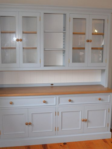 Deanery 7ft Cambridge Oak Top Dresser with hand-painted finish