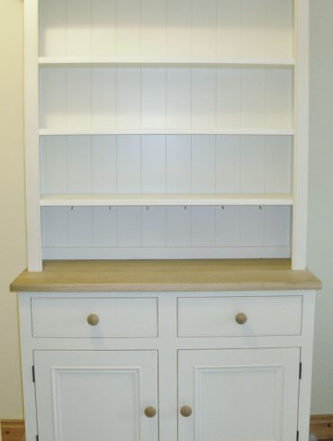 Deanery Cottage Dresser with Oak Top and hand-painted finish