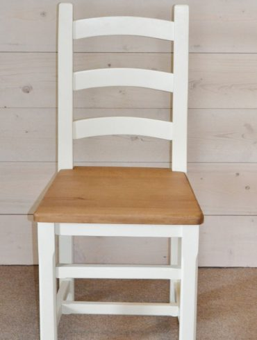 Provence Harwood Chair with hand-painted finish