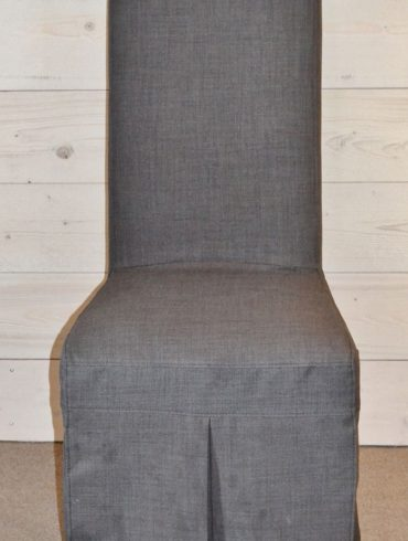 Livingston Charcoal Dining Chair with Washable cover