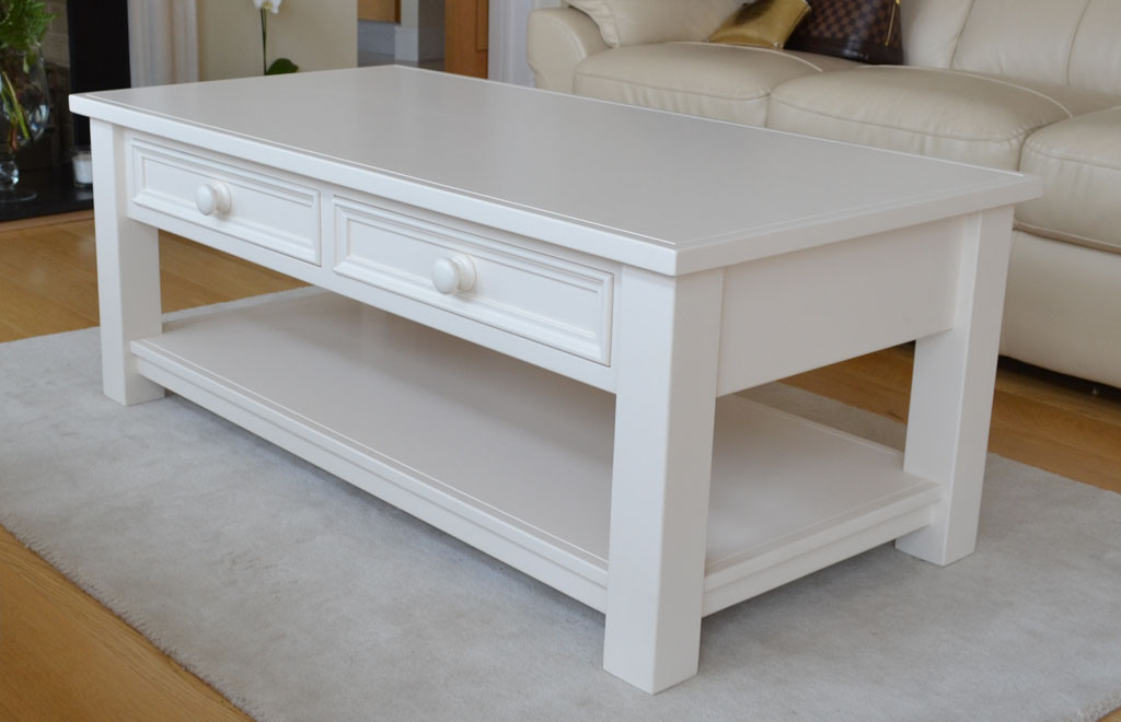 DCT4101 - Aishling 2 Drawer Coffee Table with hand-painted finish