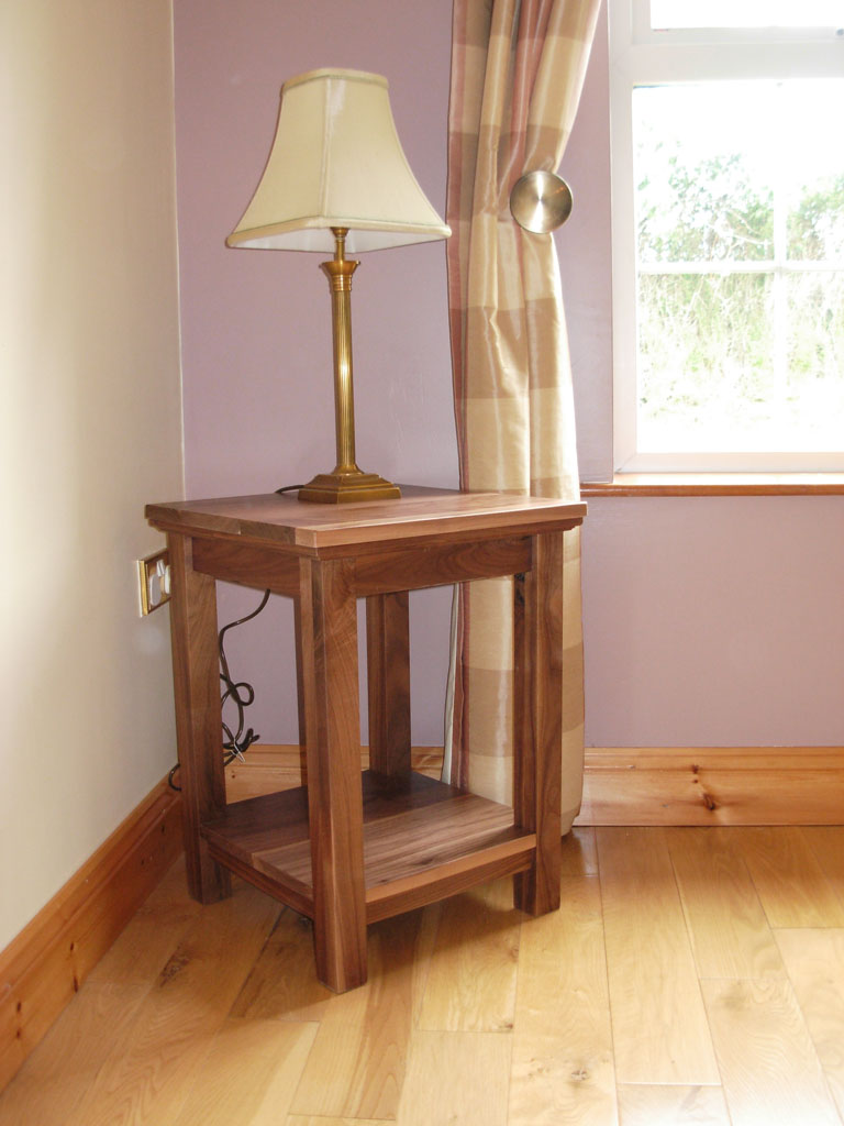 Deanery Walnut Lamp Table
