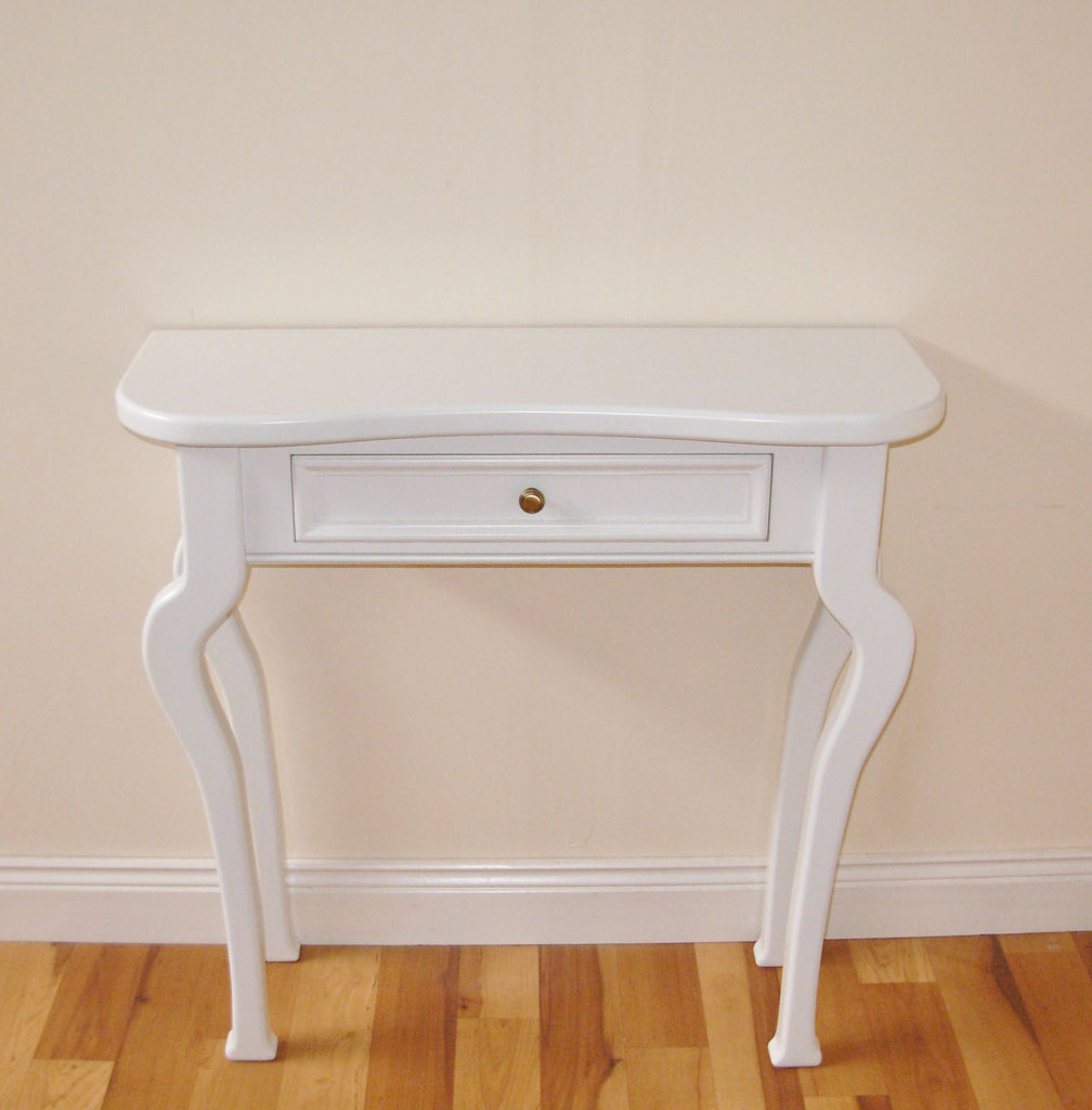 Bespoke console Table with hand-painted finish