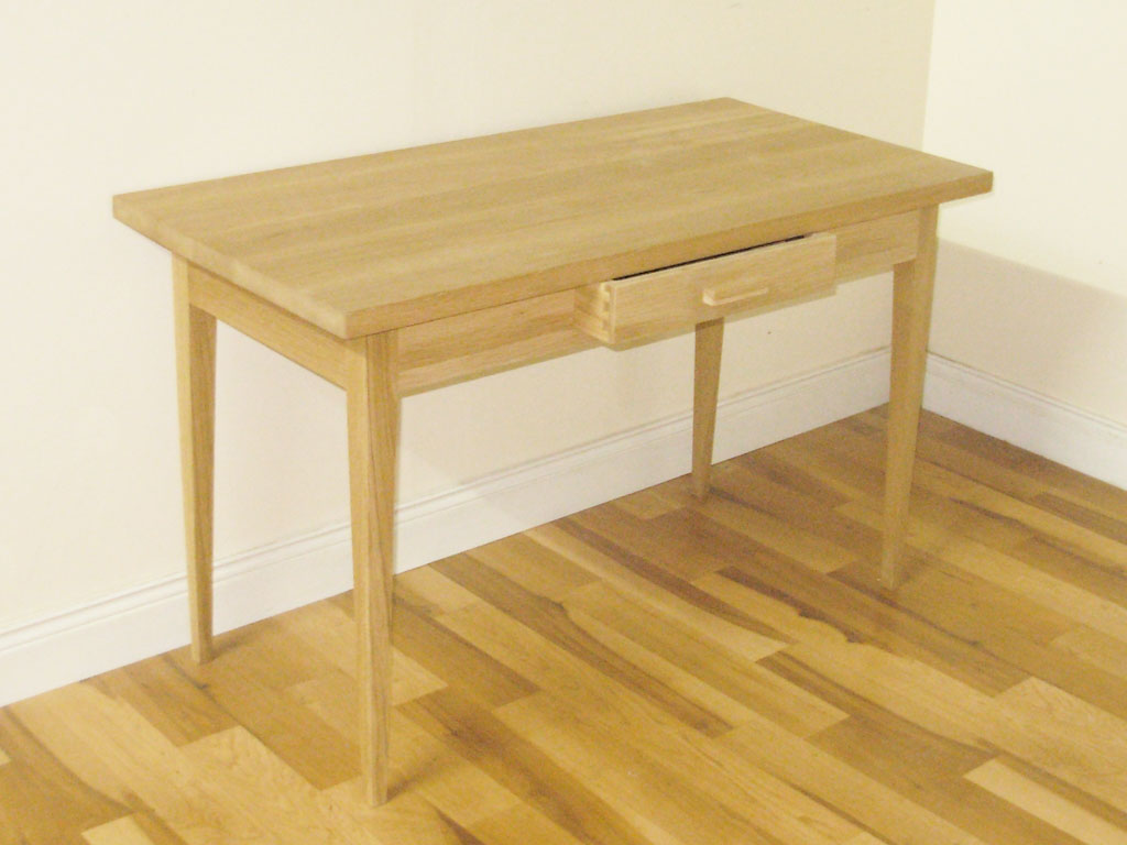 Bespoke Solid Oak Console Table