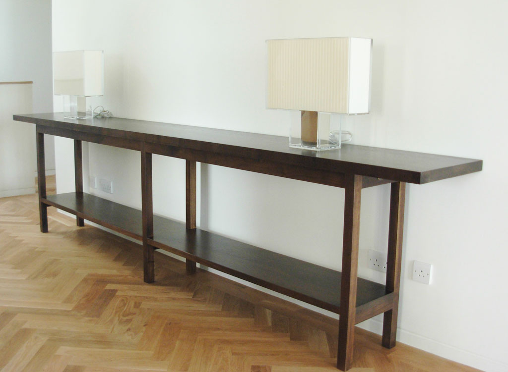 Livingston Solid Walnut Console Table