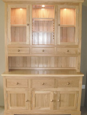Deanery 5ft Ducal Solid Oak Dresser with hand-painted finish