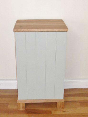 Deanery Oak Top Fuel Box Bin