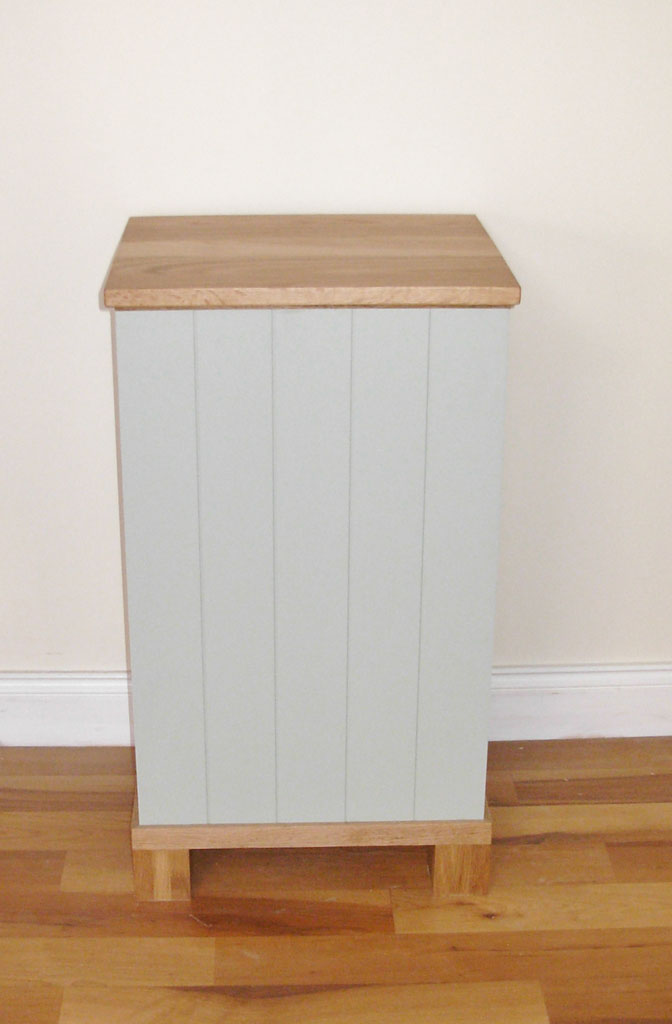 Deanery Oak Top Fuel Box Bin