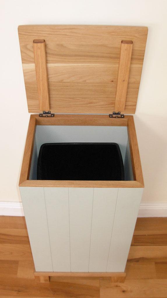 DFB4305 - Deanery Oak Top Fuel Box Bin