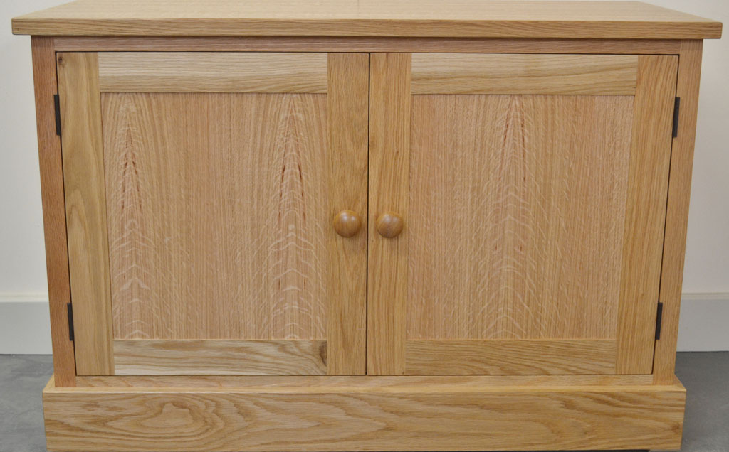 Woodford Oak 2 Door Fuel Box Cabinet