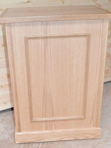 Deanery Bespoke Oak Fuel Box Bin