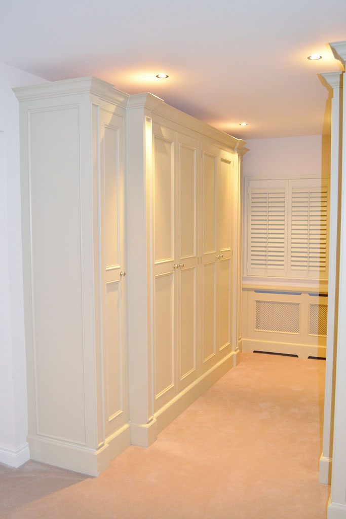 DFF2005 - Deanery Handcrafted Wardrobe and Radiator Cabinets with hand-painted finish
