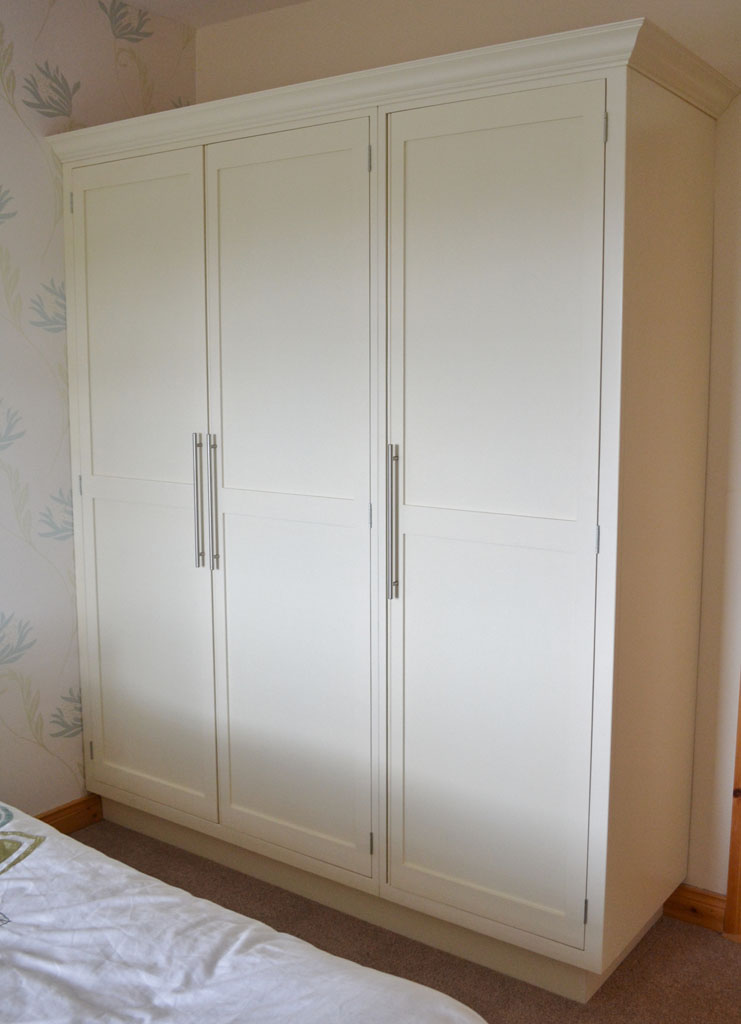 Deanery Shaker Style Wardrobe with hand-painted finish