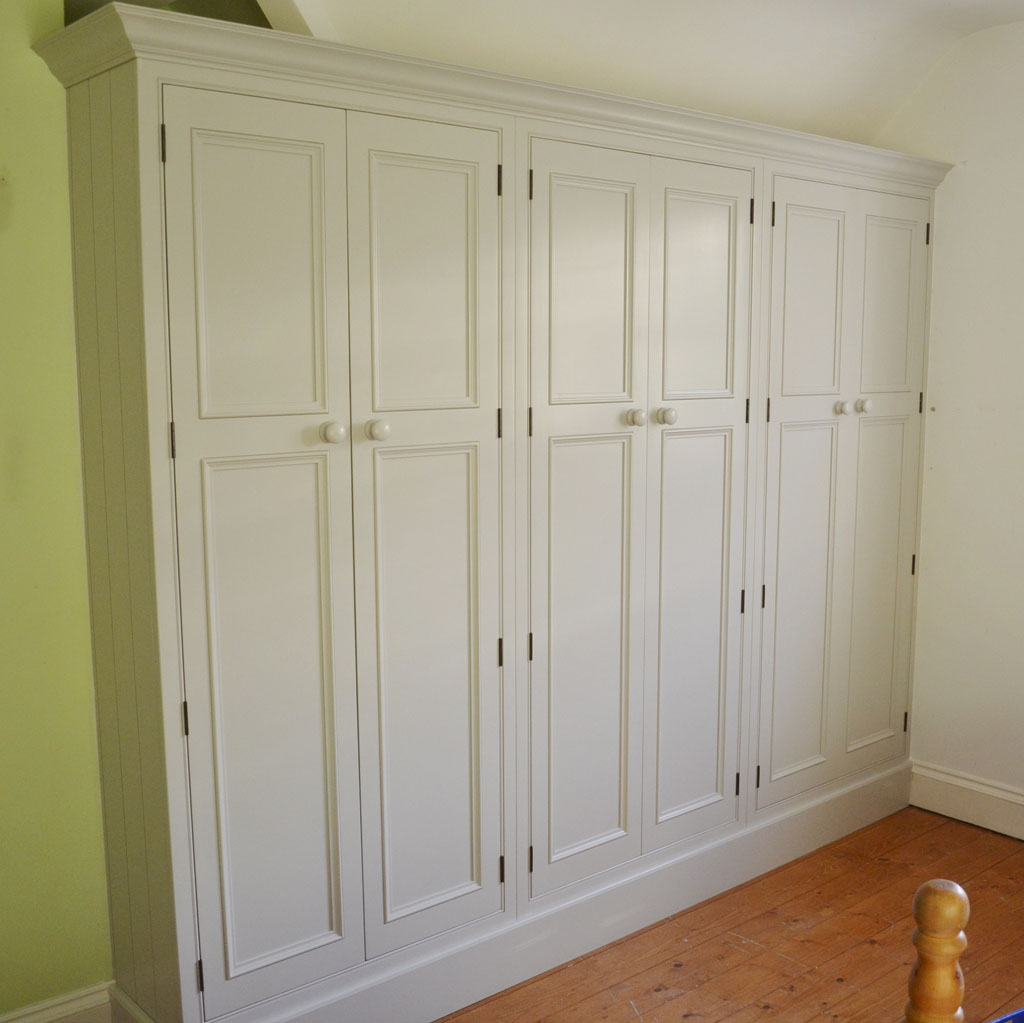 Deanery Large Wardrobe with in-frame Doors and hand-painted finish