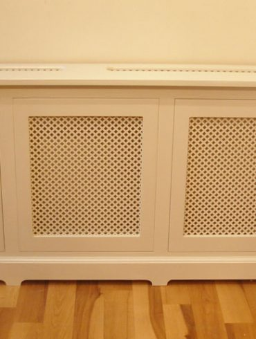 Deanery Clifton Door Radiator Cover with hand-painted finish