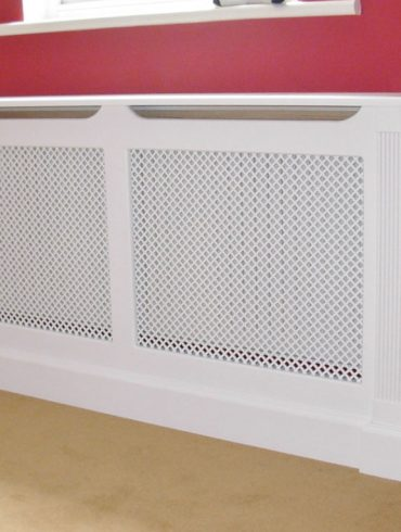 Deanery Clifton Radiator Cover with hand-painted finish