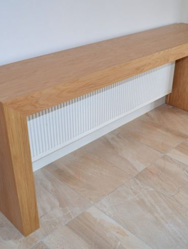Deanery Oak Hall Table Radiator Cover
