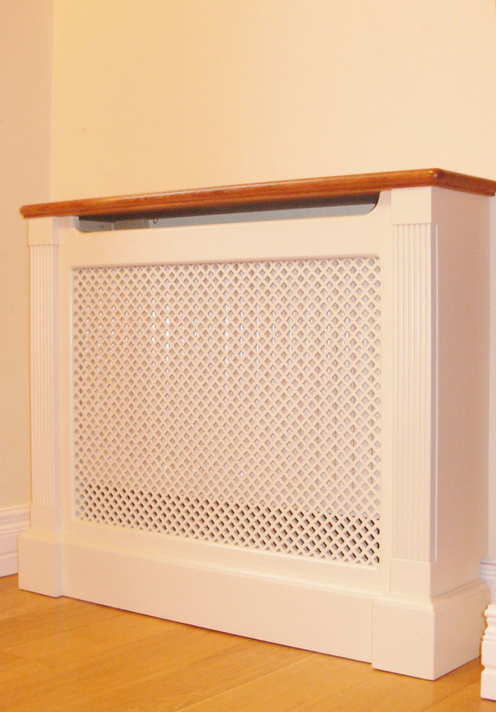 Deanery Teak Top Clifton single Radiator Cover