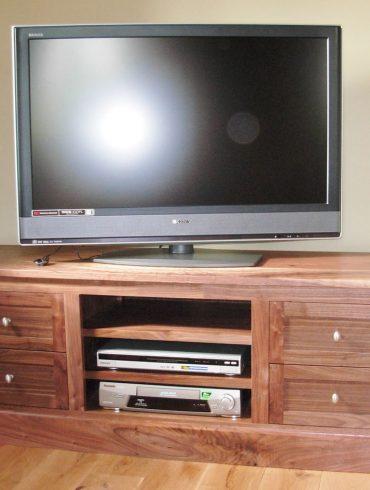 Deanery Kingston Solid Walnut TV Cabinet