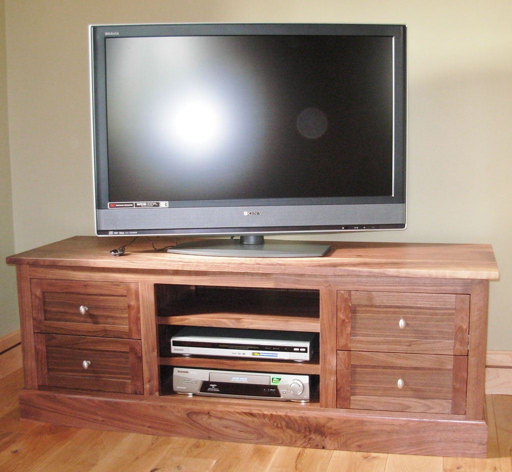 Deanery Kingston Solid Walnut TV Cabinet