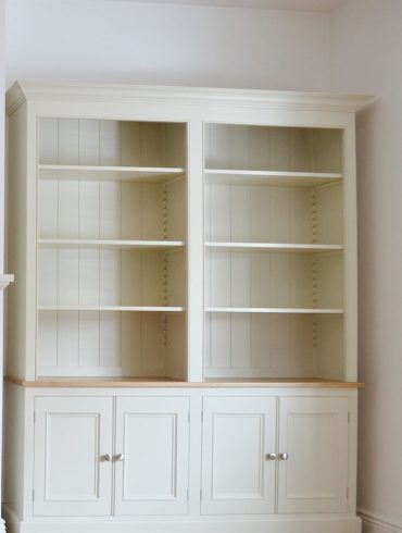 Deanery Charlotte Rose Lever Arch Files Bookcase
