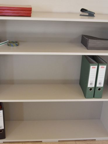 Deanery Office Lever Arch File Bookcase