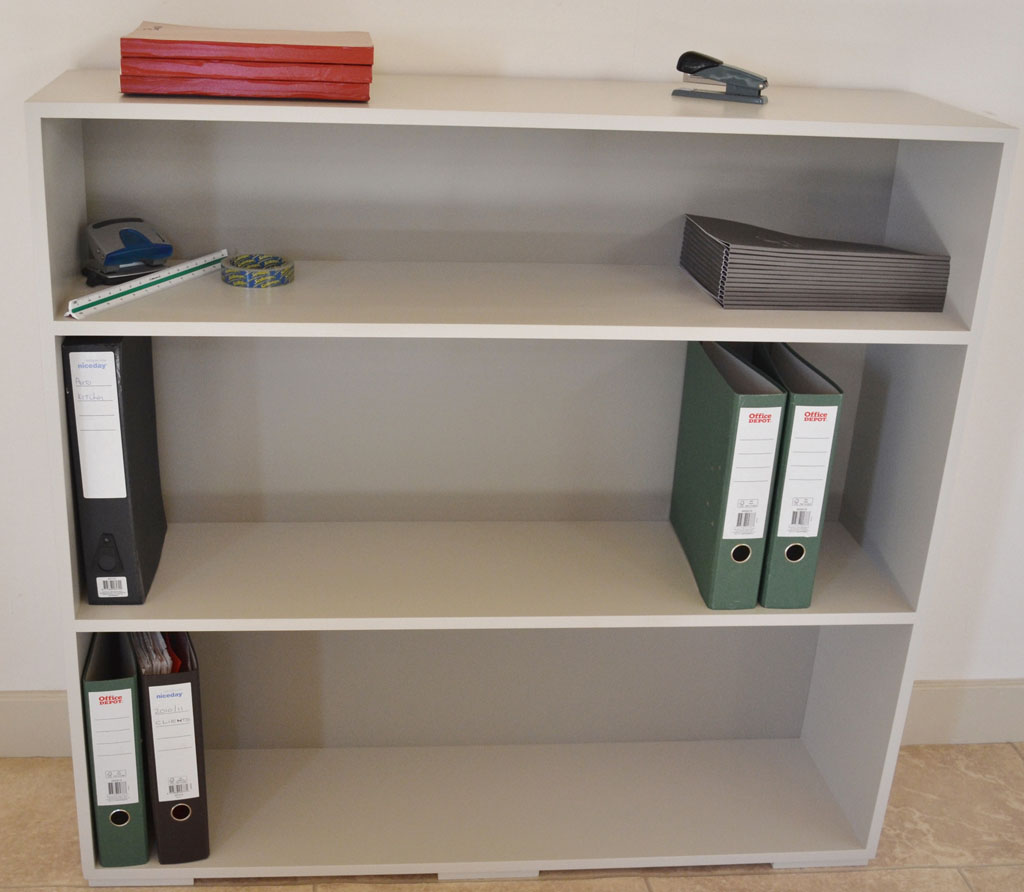 DOF7503 - Deanery Office Lever Arch File Bookcase