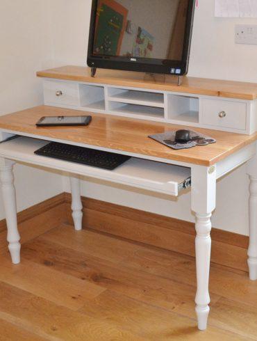 Deanery Oak Top Computer Desk