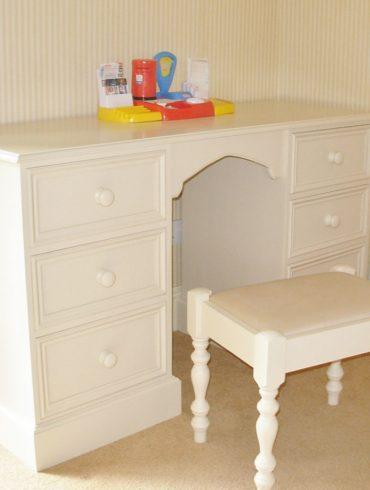 Deanery Twin Pedestal Writing Desk