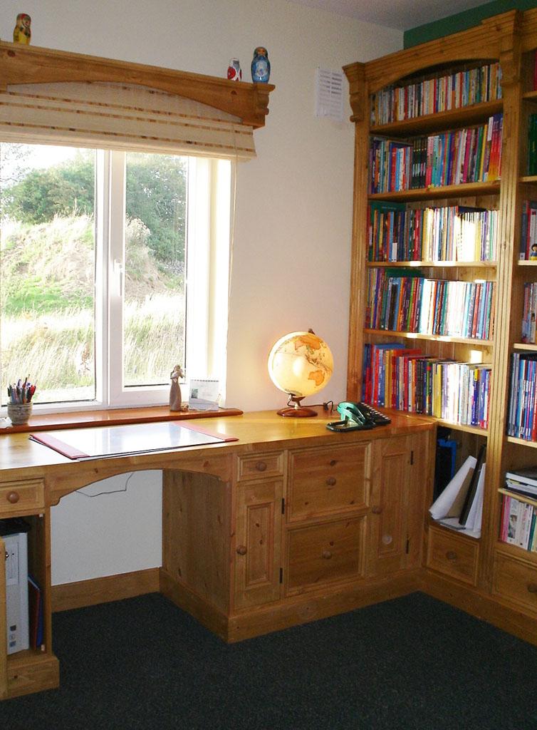 Deanery Bespoke Pine Study Room