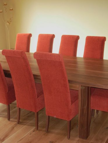 Deanery Livingston 9ftx4ft Solid Walnut Table