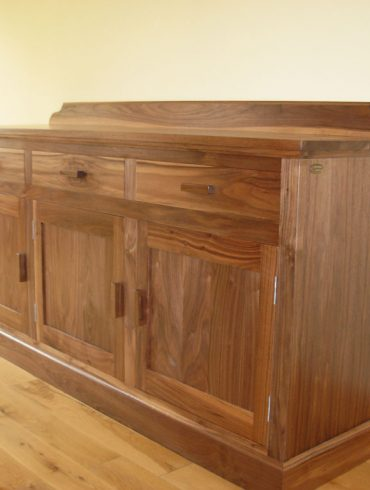 Deanery 5ft Kingston Walnut Sideboard