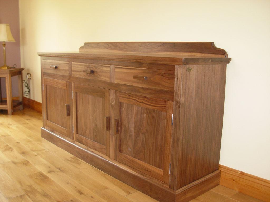 Deanery 5ft Kingston Walnut Sideboard