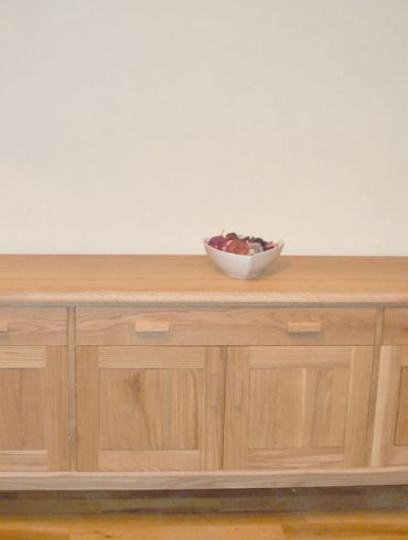 Deanery Long Bespoke Solid Oak Sideboard