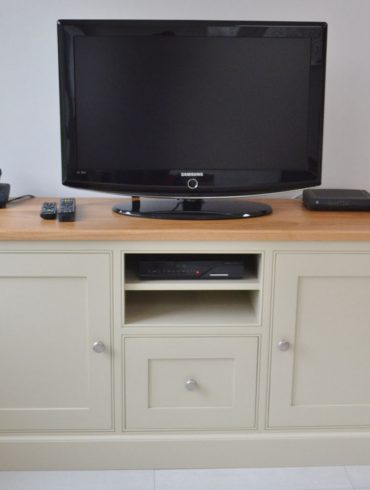 Deanery Media Centre Sideboard with hand-painted finish