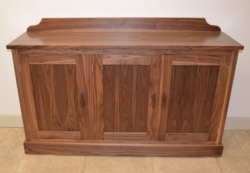 Deanery 5ft Wellington Walnut Sideboard