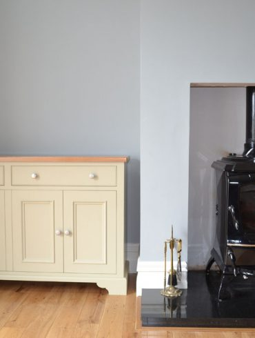 Deanery 5ft Fuel Box Sideboard with hand-painted finish