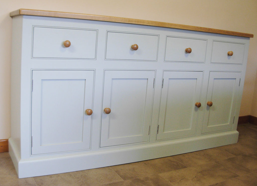 DSB3332 - Deanery 6ft Solid Ash Sideboard with hand-painted finish