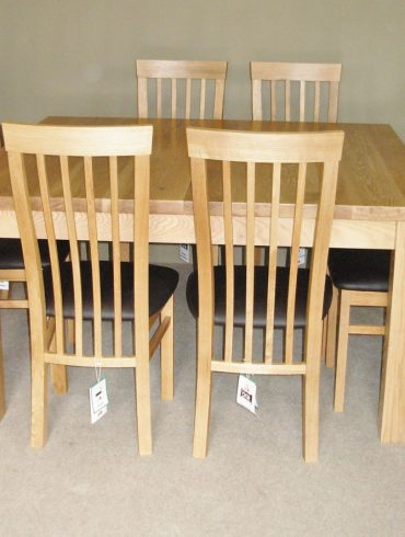 Woodford Solid Oak Square Table