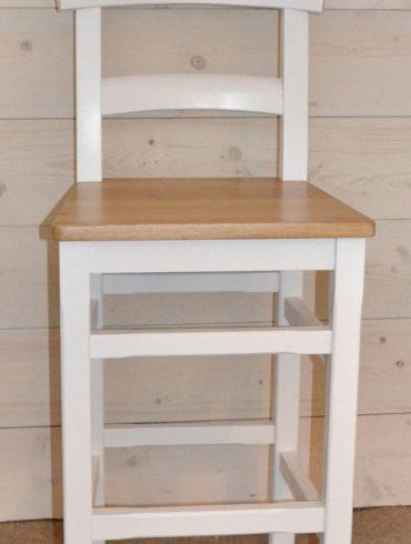 Parlour Hardwood Bar Stool, Seat choice: Solid Oak/Cream Leather/Black Leather