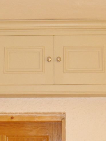 Deanery Bespoke Fuse Box Cabinet with hand-painted finish