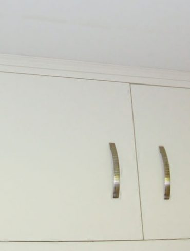 Deanery Fitted Bespoke 2 Door Cabinet with hand-painted finish