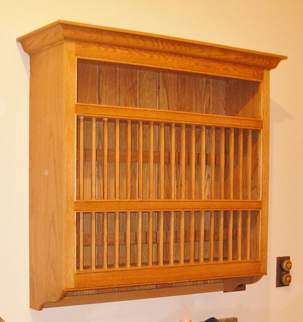 Deanery Woodford Oak Plate Rack
