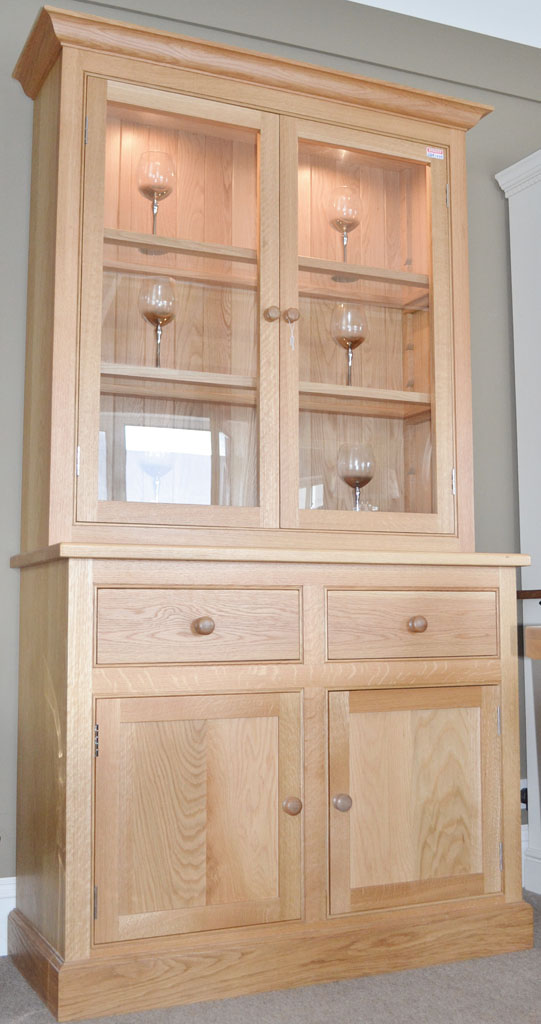 Deanery 4ft Solid Oak Woodford Dresser
