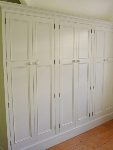 Deanery Imperial Door In-frame Fitted Wardrobe with hand-painted finish